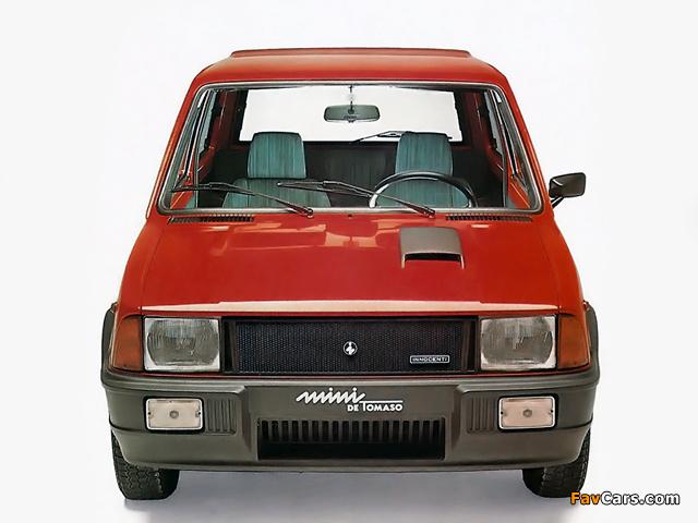Innocenti Mini de Tomaso Turbo 1983–88 wallpapers (640 x 480)