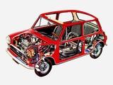 Photos of Innocenti Mini 1000 (ADO20) 1972–74