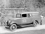 1934–37 International C-1 Panel Truck photos