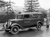 1934–37 International C-1 Panel Truck pictures