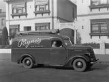International D-2 Panel Van 1940 images