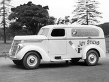 Pictures of International D-2 Panel Van 1938