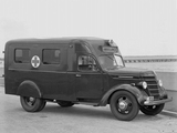 Pictures of International D-15 Ambulance 1941