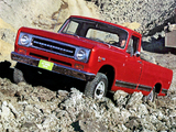 Pictures of International Pickup (D1100) 1970