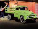Pictures of International R-120 Stake Truck 1953
