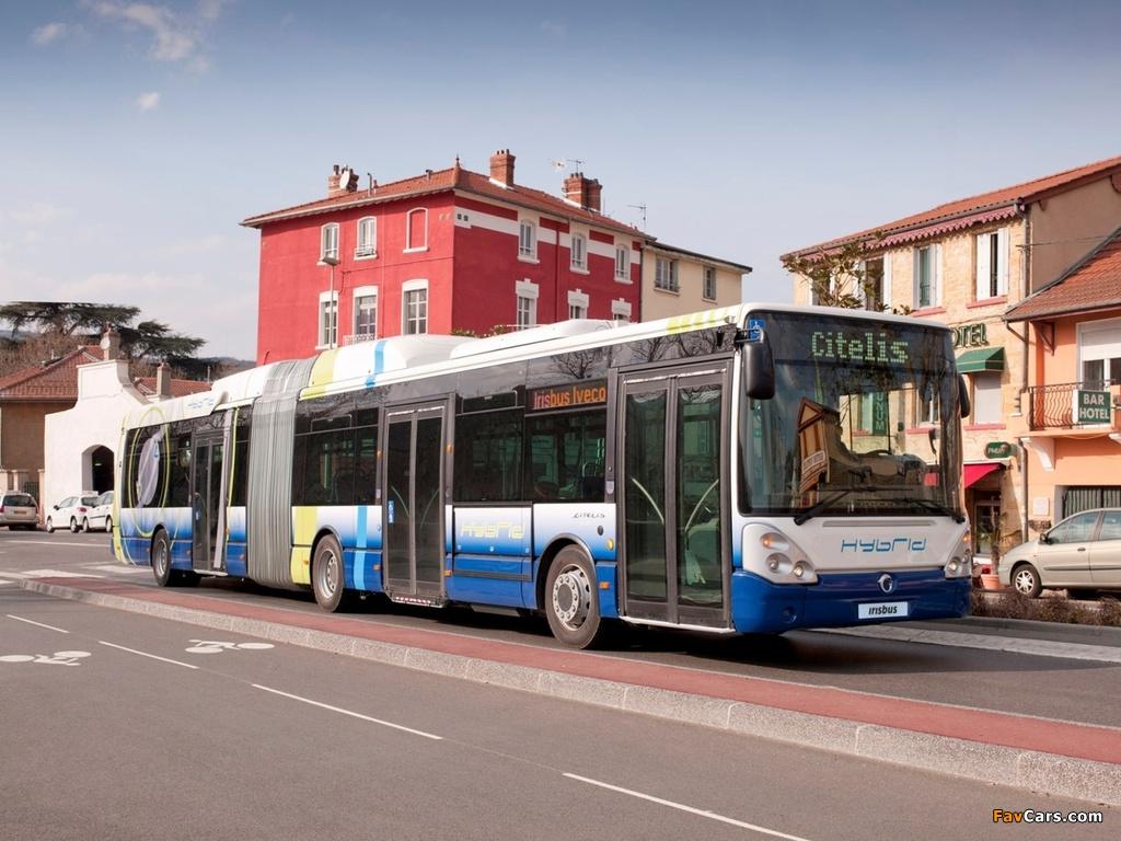 Irisbus Citelis Articulated Hybrid 2011 photos (1024 x 768)