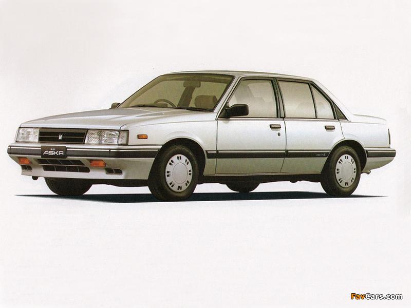 Isuzu Aska 1983–89 pictures (800 x 600)
