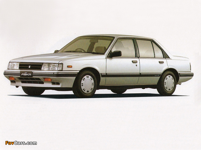 Isuzu Aska 1983–89 pictures (640 x 480)