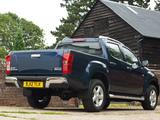 Images of Isuzu D-Max Double Cab UK-spec 2012