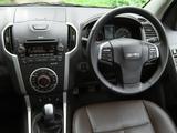 Isuzu D-Max Double Cab UK-spec 2012 photos