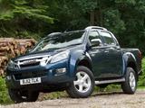 Photos of Isuzu D-Max Double Cab UK-spec 2012