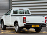 Photos of Isuzu D-Max Single Cab UK-spec 2012