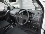 Isuzu D-Max Single Cab UK-spec 2012 wallpapers