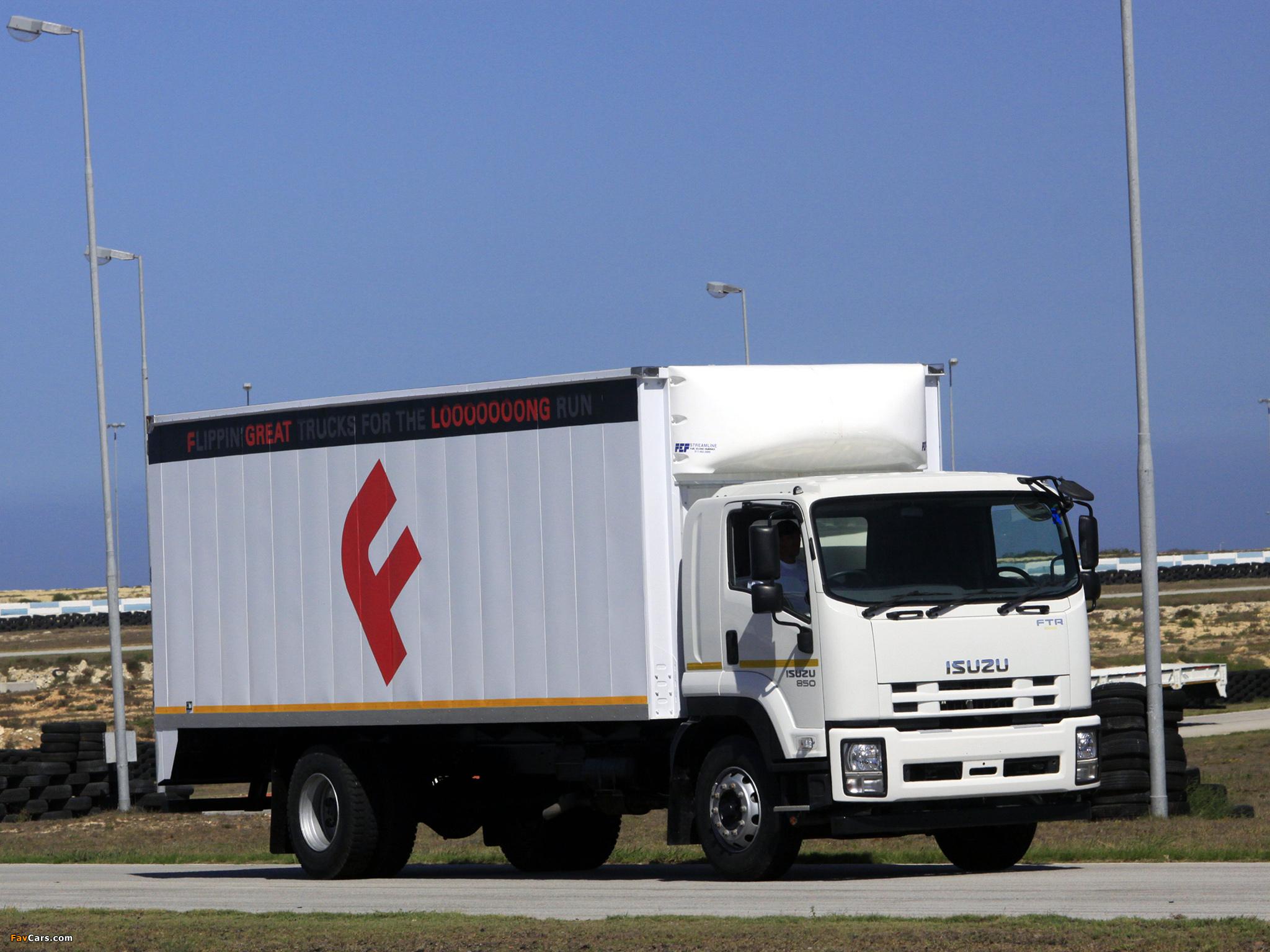 Pictures of Isuzu FTR850 2008 (2048 x 1536)