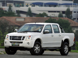 Photos of Isuzu KB Double Cab 2007–10