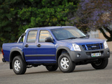 Pictures of Isuzu KB Double Cab 2007–10
