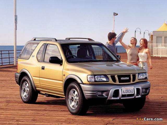 Isuzu MU 1998–2002 images (640 x 480)
