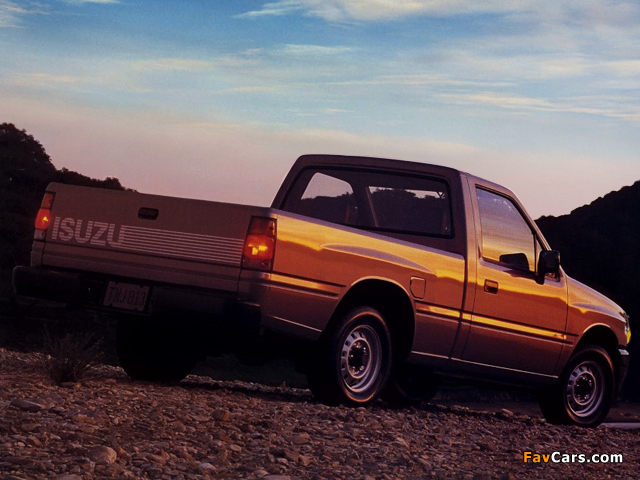 Isuzu Pickup S 4x2 Standard Bed (TF) 1988–90 images (640 x 480)