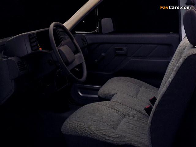 Isuzu Pickup S 4x2 Standard Bed (TF) 1988–90 pictures (640 x 480)