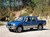 Wallpapers of Isuzu TF 4x4 Double Cab UK-spec 1992–2002