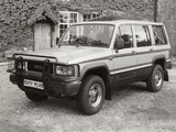 Isuzu Trooper Duty Plus LWB UK-spec 1987–91 wallpapers