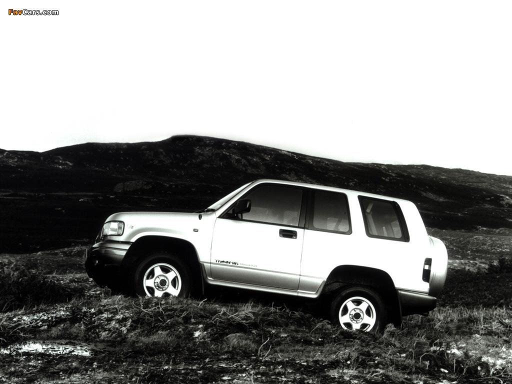 Isuzu Trooper SWB UK-spec 1992–98 pictures (1024 x 768)