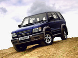 Isuzu Trooper UK-spec 1998–2002 images