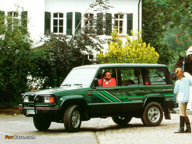 Photos of Isuzu Trooper 1986–91 (640 x 480)