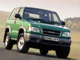 Wallpapers of Isuzu Trooper SWB 1998–2002