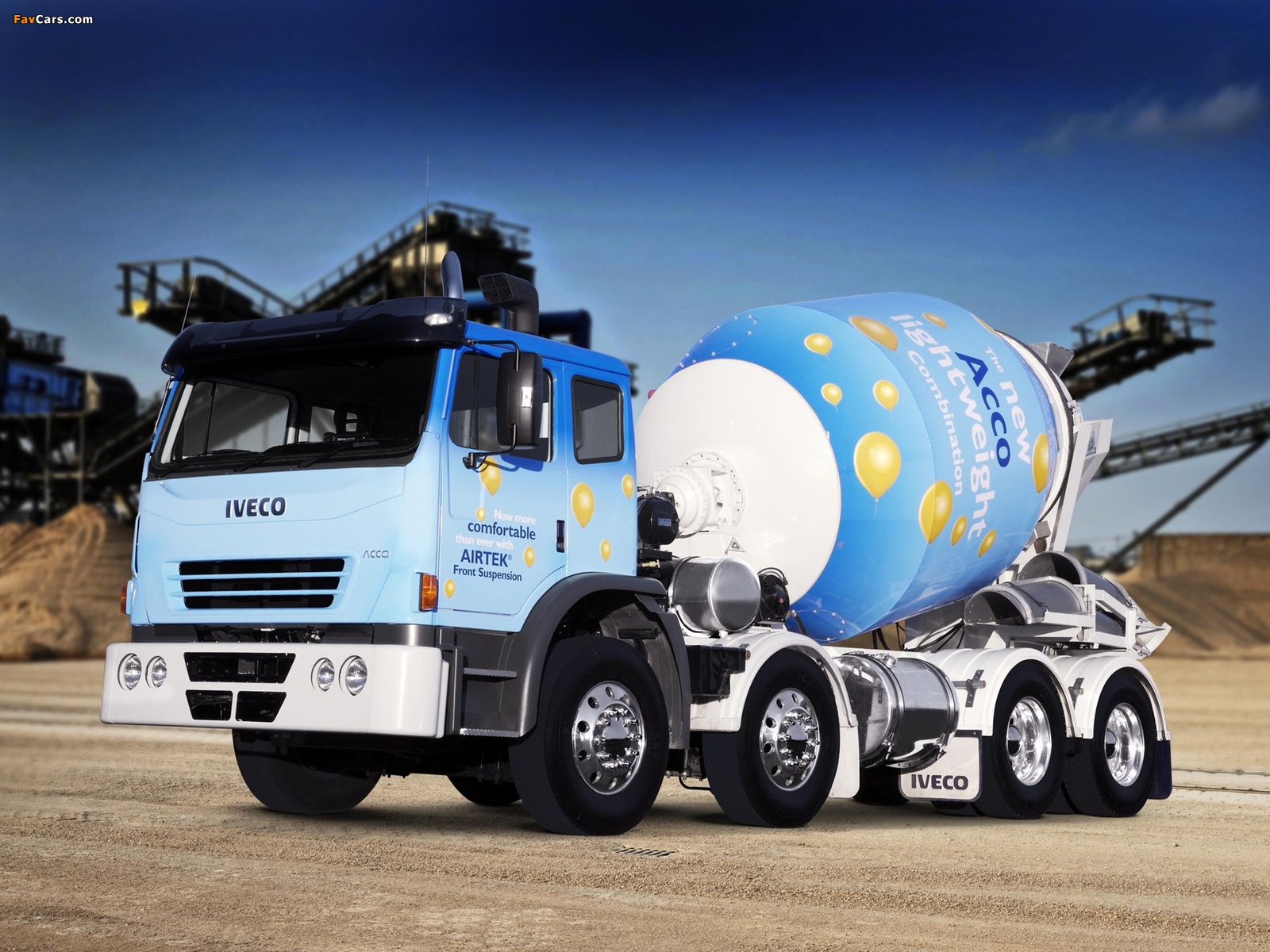 Pictures of Iveco Acco Mixer (1600 x 1200)