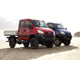 Images of Iveco Daily 4x4 Crew Cab & Chassis Cab 2007-09