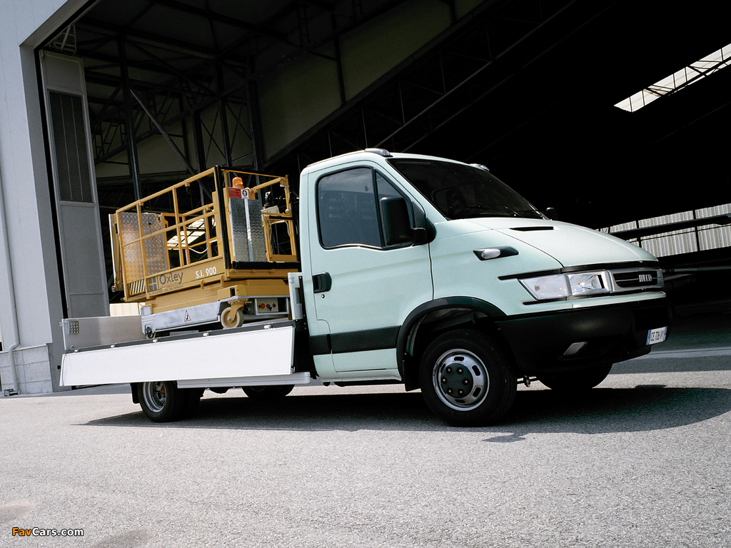 Iveco Daily Chassis Cab 2004–06 photos (1024 x 768)