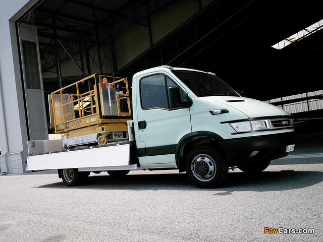 Iveco Daily Chassis Cab 2004–06 photos (640 x 480)