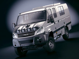 Iveco Daily 4x4 Crew Cab Rally Camp 2007–09 wallpapers