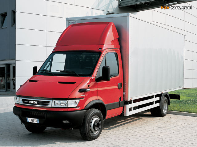Iveco Daily Chassis Cab 2004–06 wallpapers (640 x 480)