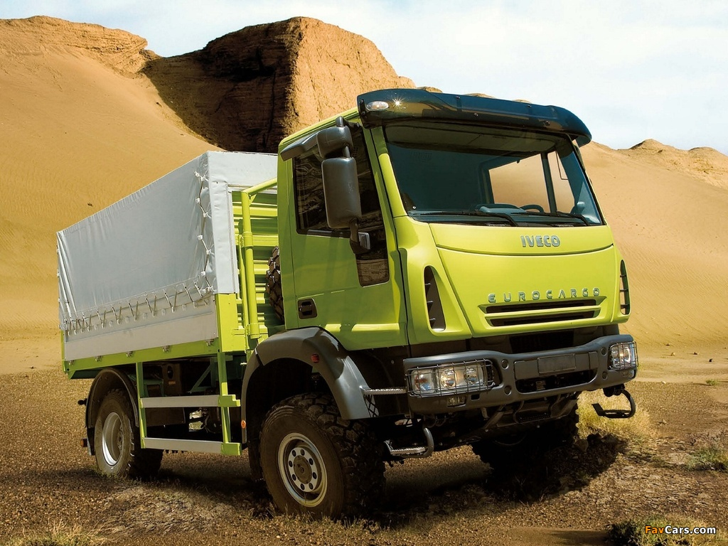 Images of Iveco EuroCargo 4x4 2004–08 (1024 x 768)