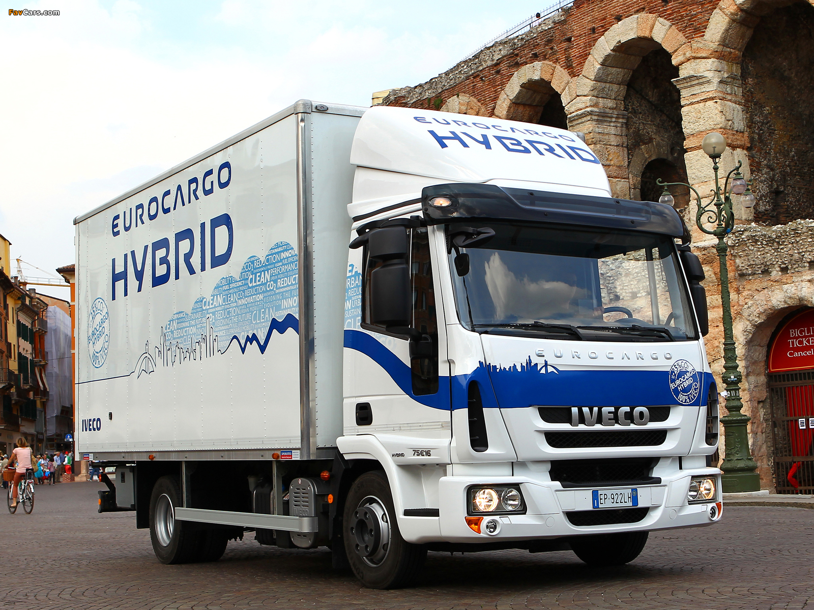Iveco EuroCargo Hybrid (ML) 2008 wallpapers (1600 x 1200)