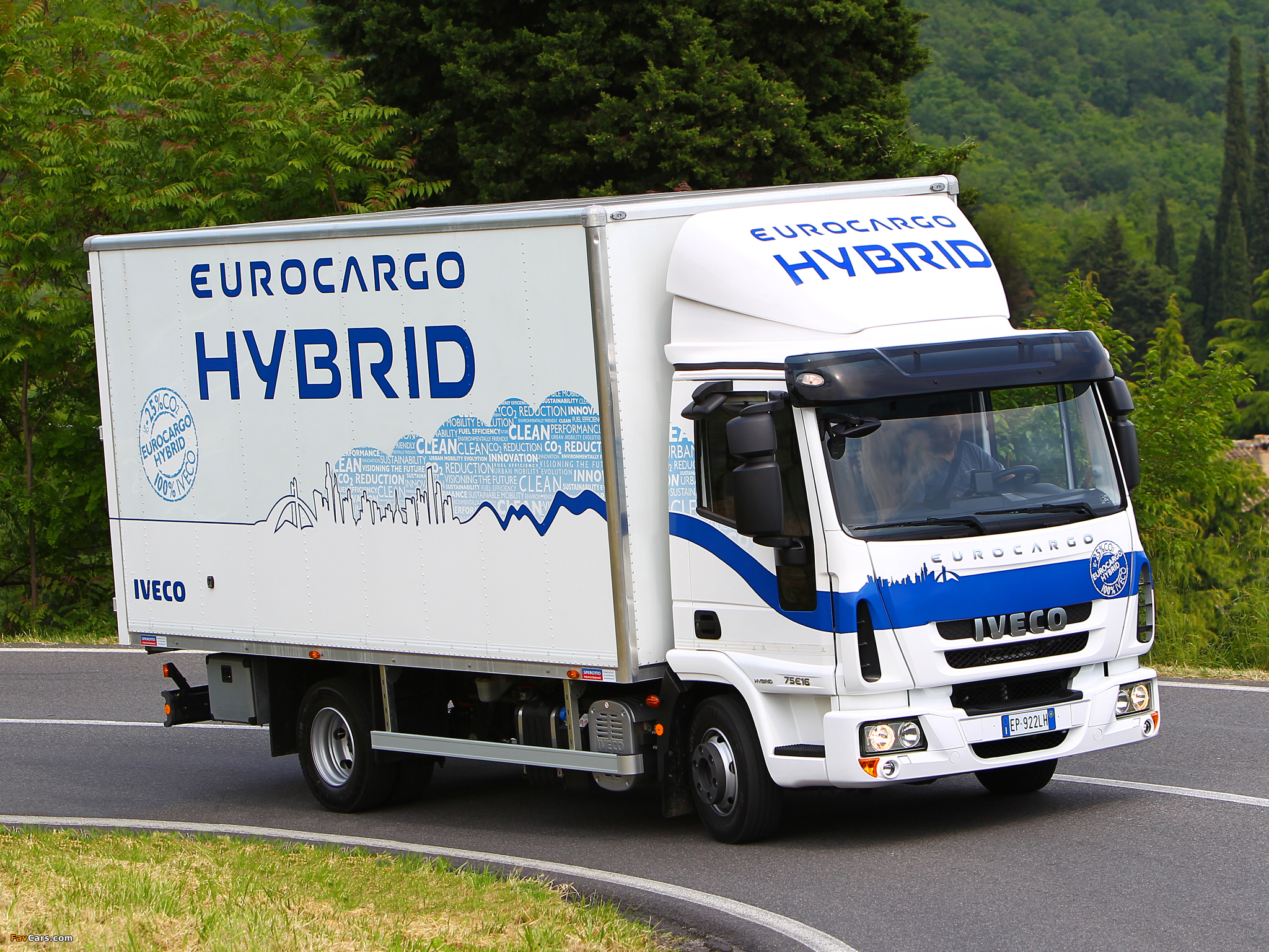 Iveco EuroCargo Hybrid (ML) 2008 wallpapers (2048 x 1536)