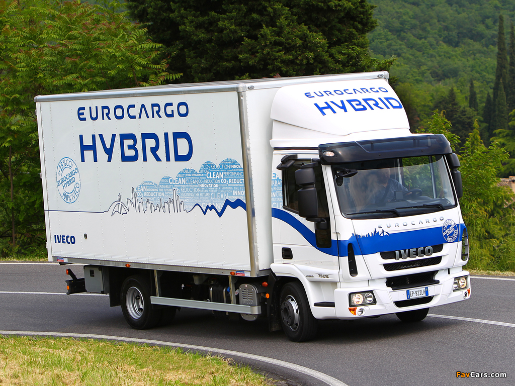 Iveco EuroCargo Hybrid (ML) 2008 wallpapers (1024 x 768)