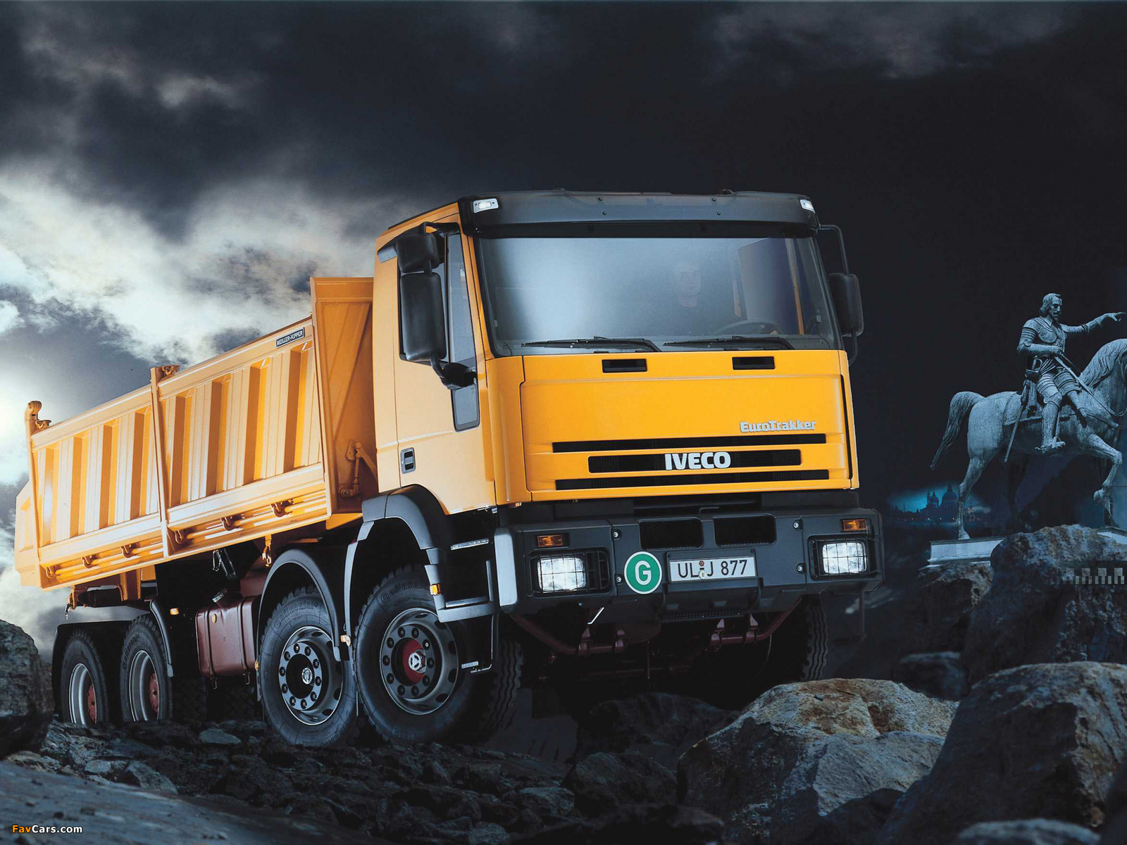 Pictures of iveco eurotrakker 8x4 1993 2004 1600x1200 - Diesel truck wallpaper ...