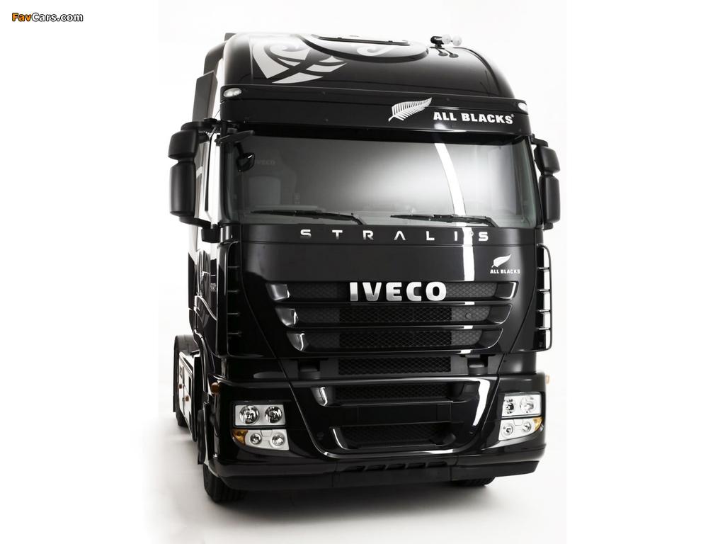 Iveco Stralis 500 4x2 UK-spec 2007–12 images (1024 x 768)