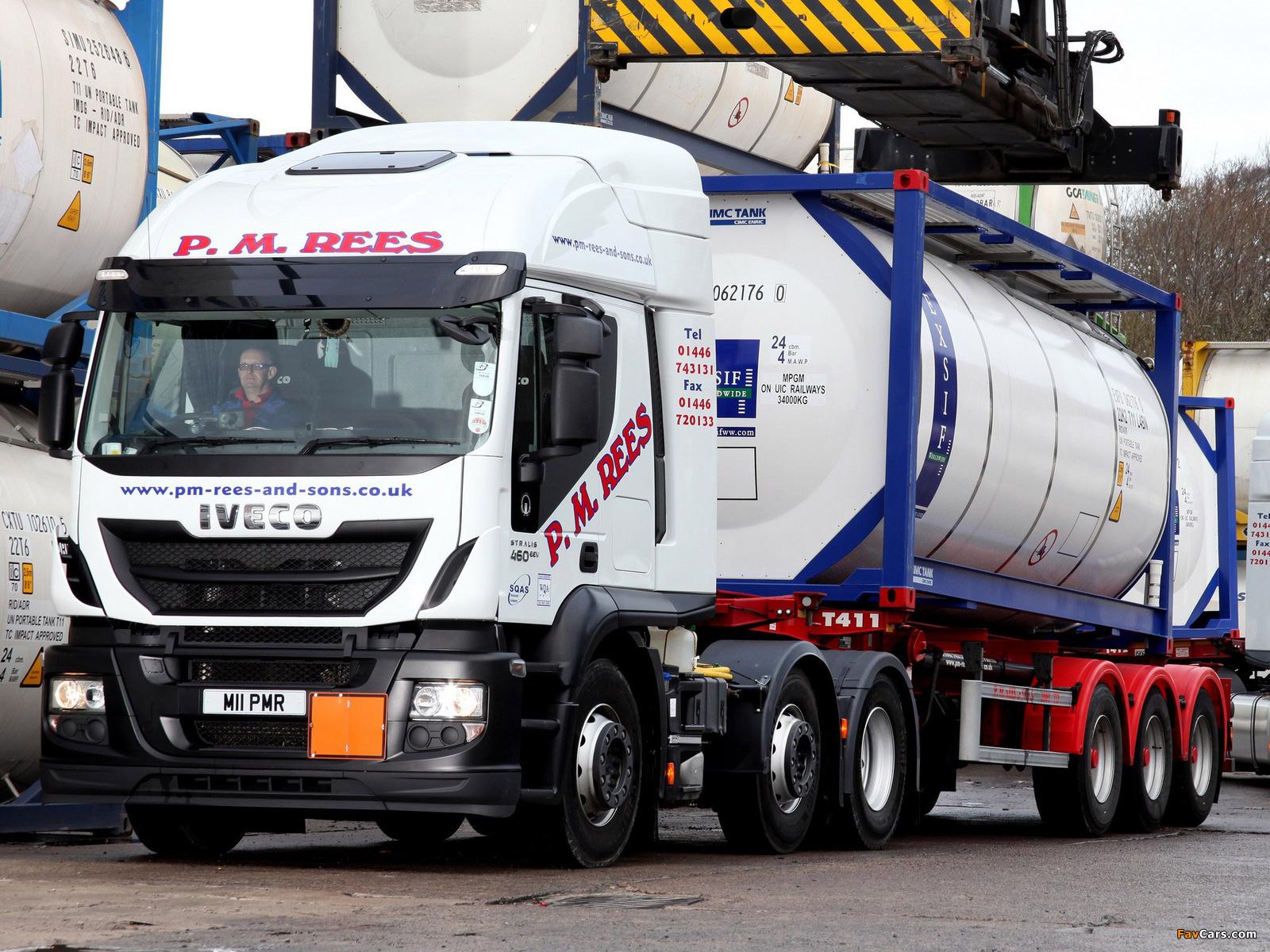 Iveco EcoStralis Hi-Road 460 6x2 UK-spec 2013 images (1600 x 1200)