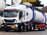 Iveco EcoStralis Hi-Road 460 6x2 UK-spec 2013 images