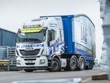 Photos of Iveco EcoStralis Hi-Road 460 6x2 UK-spec 2013