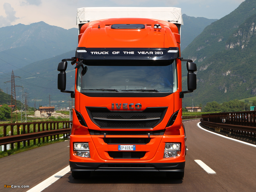 Pictures of Iveco Stralis Hi-Road 330 Natural Power 4x2 2012 (1024 x 768)