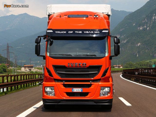 Pictures of Iveco Stralis Hi-Road 330 Natural Power 4x2 2012 (640 x 480)