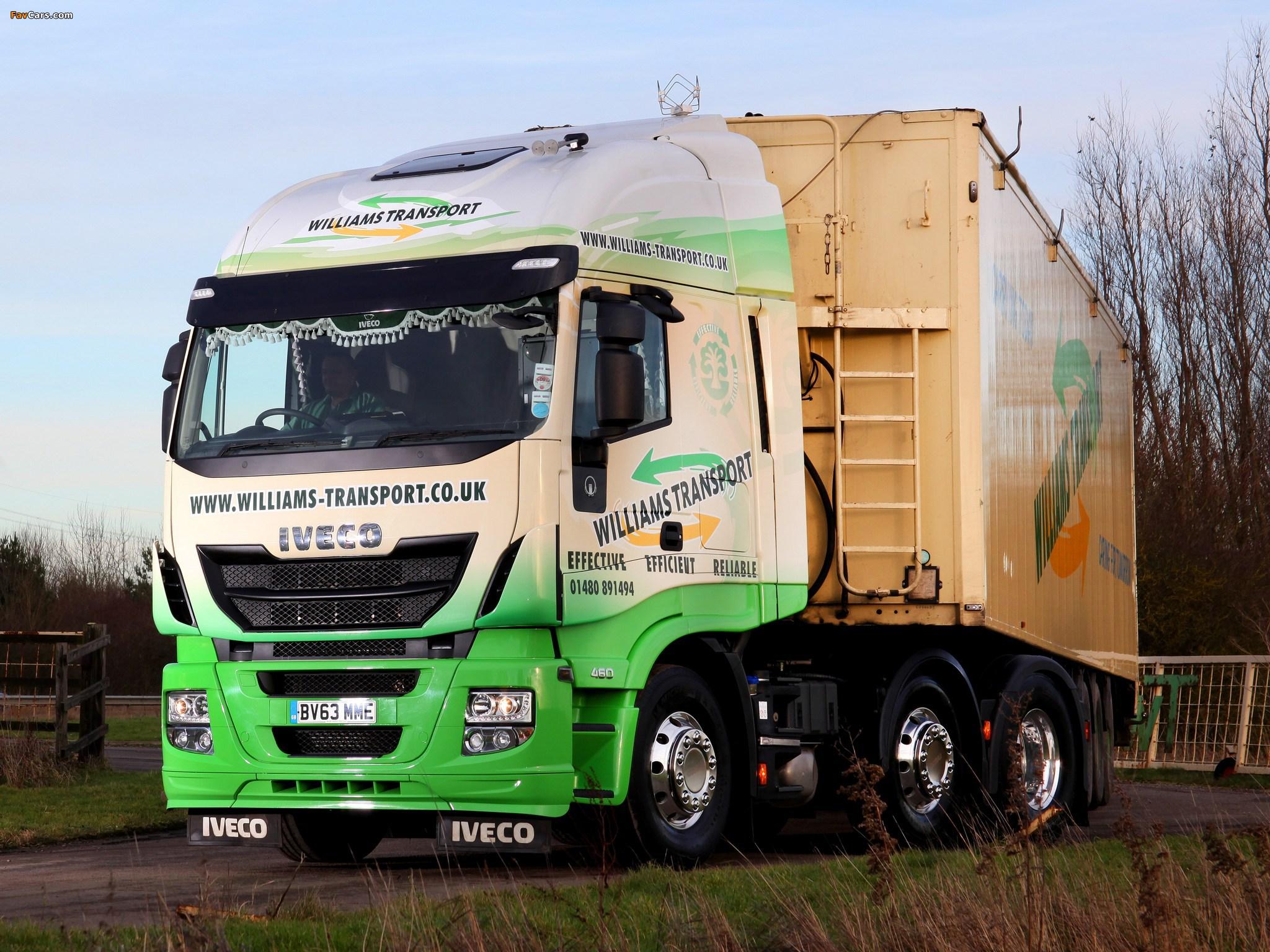 Pictures of Iveco EcoStralis Hi-Road 460 6x2 UK-spec 2013 (2048 x 1536)