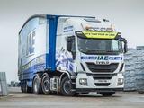 Iveco EcoStralis Hi-Road 460 6x2 UK-spec 2013 wallpapers