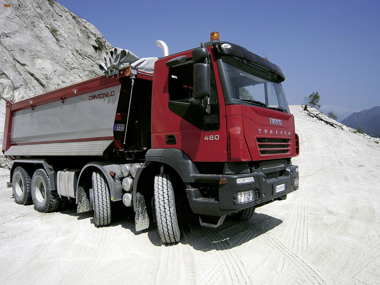 Images of Iveco Trakker 8x4 2004–07 (1600 x 1200)