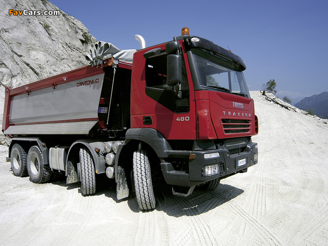 Images of Iveco Trakker 8x4 2004–07 (640 x 480)